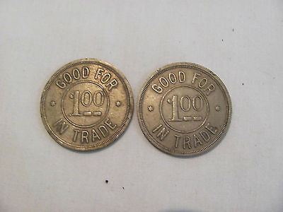 2 Vintage Chicago 1111 Bryn Mawr Jazz Club Good For 1 00 In Trade Token