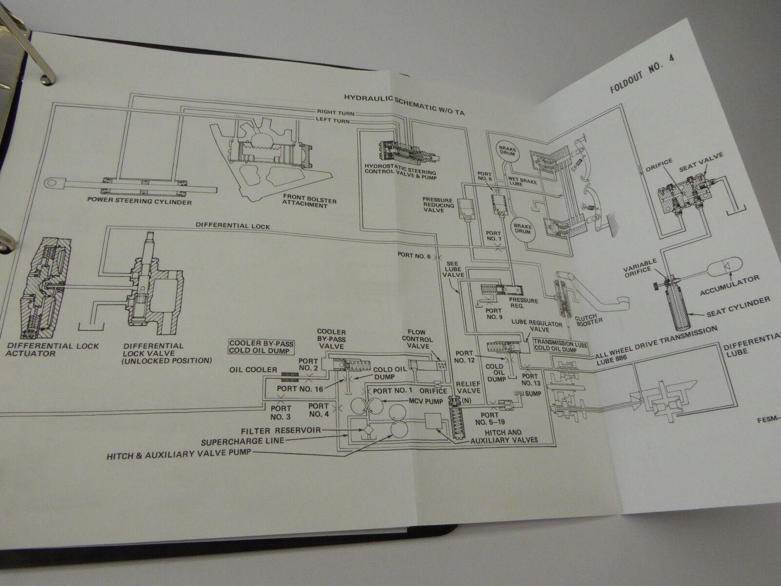 International Ih 786 886 986 1086 1486 1586 Hydro 186 Tractor Cab Wiring Diagram 8 Of 9