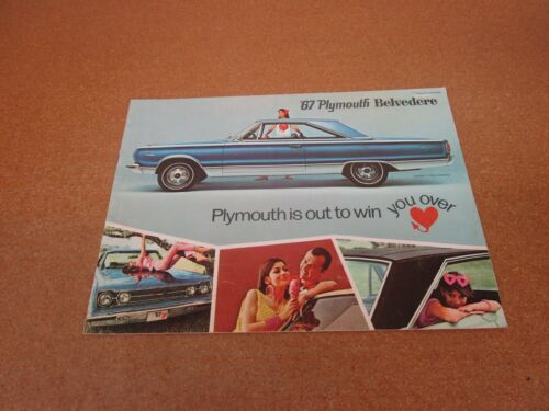 1967 Plymouth Belvedere GTX Satellite sales brochure 12 pg ORIGINAL CANADA