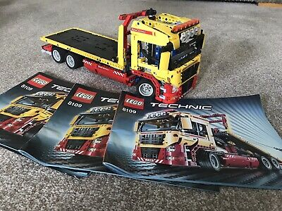 Lego Technic Flatbed Truck 8109 (complete)