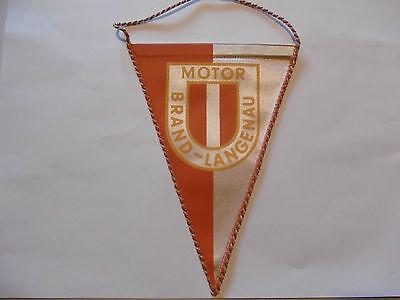 DDR Wimpel Motor Brand Langenau
