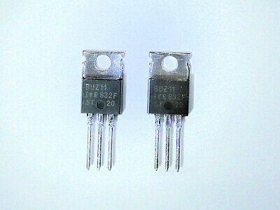 Buz11 Original Ir Mosfet Transistor 2 Pcs