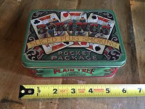 Vintage Three Kings Sliced Plug Smoking Tobacco Tin