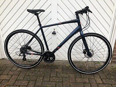 Specialized Sirrus Blue Hybrid Bike Large Men's Aluminium Altus