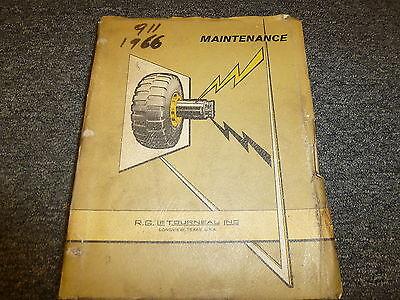 Letourneau F1304 Log Stacker Operator Maintenance Shop Service Repair Manual