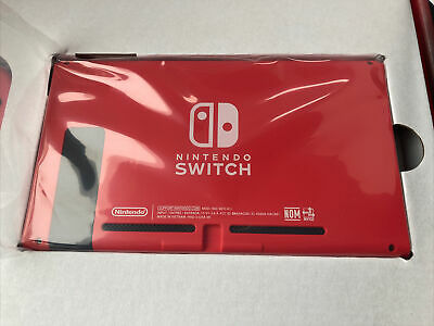 MARIO RED Nintendo Switch CONSOLE TABLET ONLY V2 w/ Warranty NEW