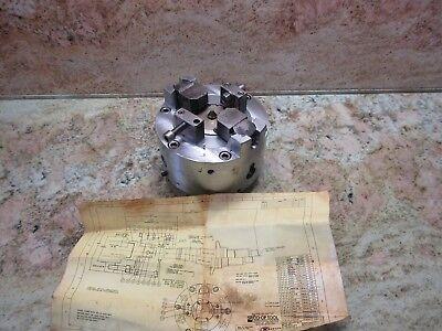 Co-op Tool Doosan Z290 Cnc Lathe 8 Collet Chuck Tl-1010-3xa Tl-c1010-3xa