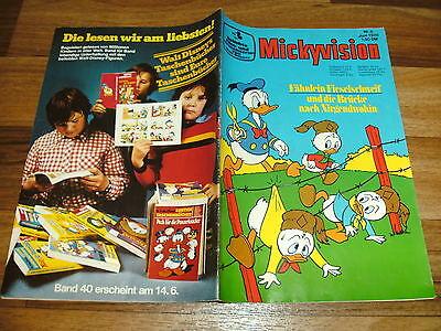 MICKYVISION  # 6 / 1976  von Walt Disney -- FÄHNLEIN FIESELSCHWEIF / Ehapa  1976