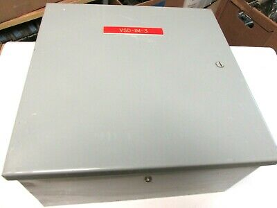 Weigmann Metal Enclosure W Backboard 12x12x6 Nema 1 W Hinged Cover .. Tg-06