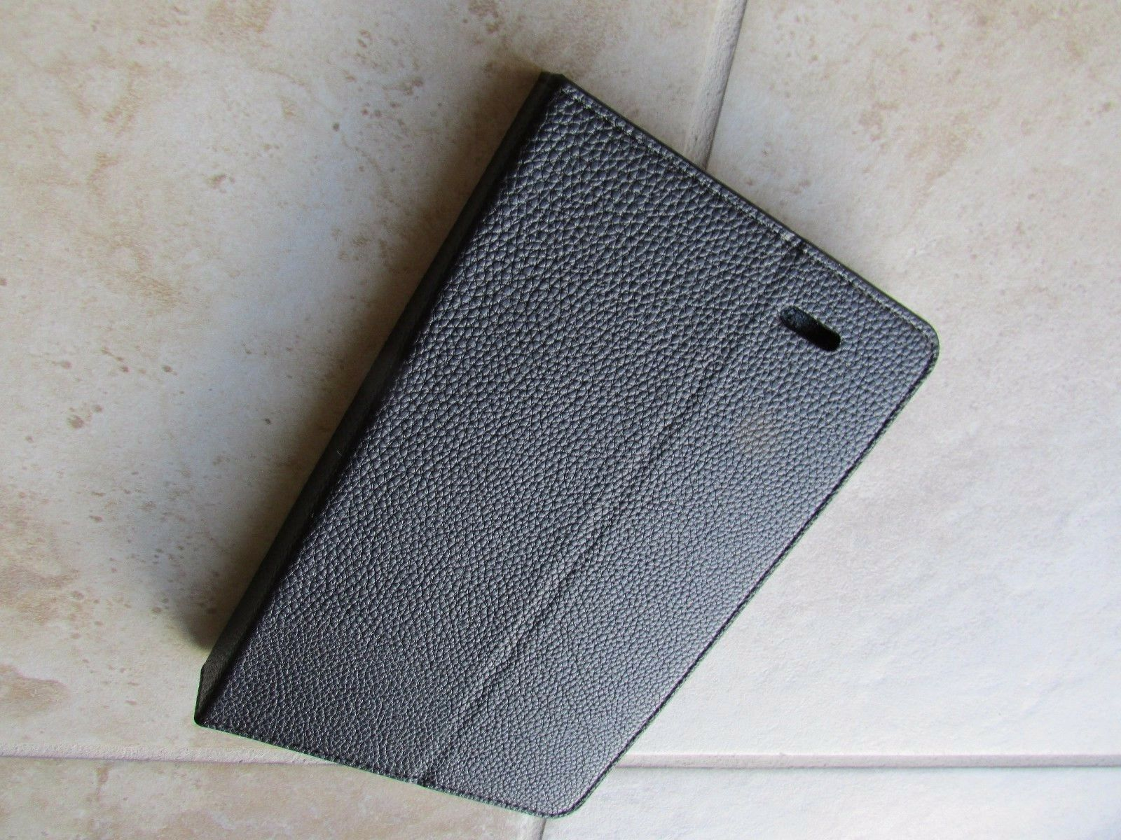 asus memopad 7 black leather dualview folio case book stand
