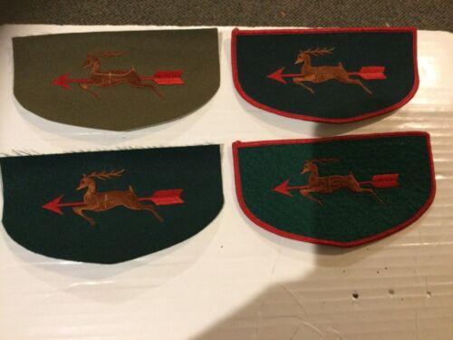 Ajapeu Lodge 33 OA Historical Flap 4 piece set