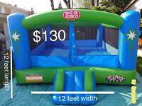 Bouncy castle cotton candy