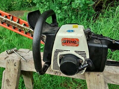 Stihl hedge trimmer hs60 Runs and Cuts Very Well BUT Fuel Tank Leaking .Spares o