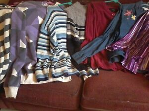 FEMALE 7 ITEMS INCLUDING ALFRED DUNNER TOP
