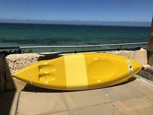 Fibreglass surf ski