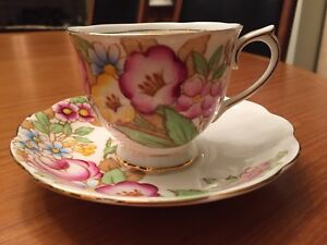 Royal Albert Bouquet teacup & saucer