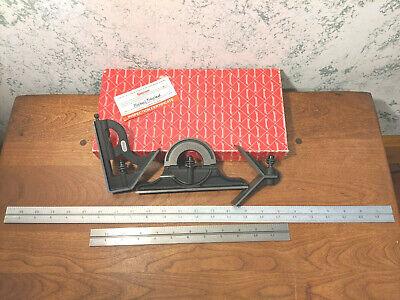 Starrett 12-24 Inch Combination Square - Protractor - Center Head