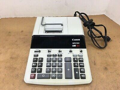 Canon MP21DX 12 Digit  Calculator Ribbon Printing