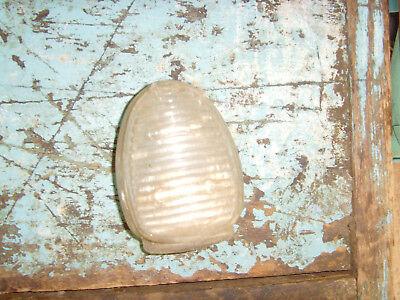Glass bird waterer vintage bird cage piece unique dish feeder chic old piece