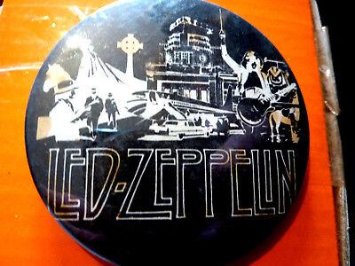"""LED ZEPPELIN"""" 1970s /1980s Badge 2 ½  """""""