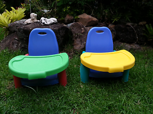 Dining chair booster seat instead of high chair x  2 Rochedale South Brisbane South East Preview