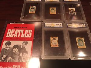 Limited edition Beatles stamps