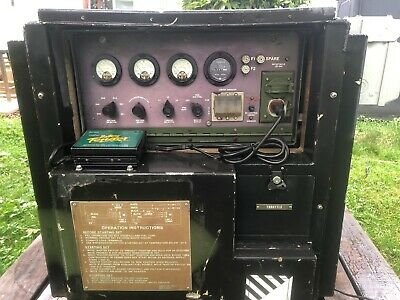 U.S military generator controls Mep generator control mep-015a military surplus