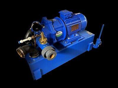 Gardner Denver Nash Vectra 43sx025v9k0a0 3-phase Vacuum Pump 230460v 7.5 Hp