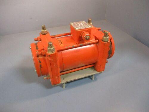 Vibco 4P-350 Electric Vibrator Vibration Motor 1/0.5 Amp, 3 Phase, 1725 RPM Used
