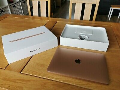 "Apple MacBook Air 13.3"" Oct 2018, Rose Gold, EXCELLENT CONDITION, HARDLY USED"