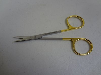 T.c Micro Iris Scissors 4.5 Straight German Stainless Steel Ce Surgical