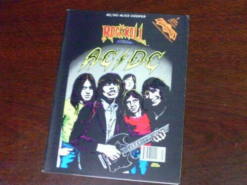 AC/DC  Rock n Roll Comics 1991 #7 Magazine Size TOTAL 10 ISSUES