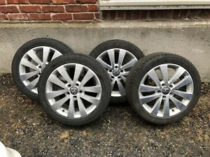 Vw Rims and tires(Vw Wolfsburg edition )