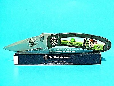 Smith & Wesson John Deere pocket knife 150th Anniversary Free Shipping USA