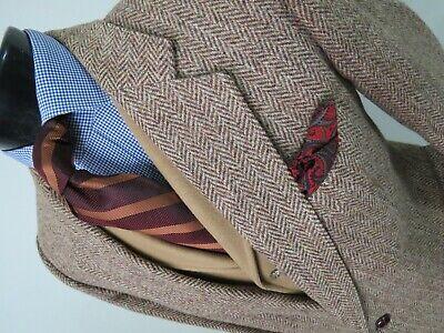 Gorgeous Brook Taverner Huddersfield England Heavy Harris tweed sport coat 42 R