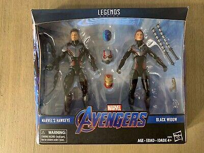"Marvel Legends Avengers Black Widow & Hawkeye 6"" Exclusive Action Figure 2-Pack"