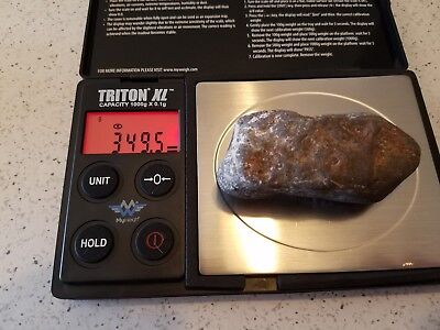 Authentic Meteor And Meteorites Outer Space Fossil Rock Collectible Fragment  34