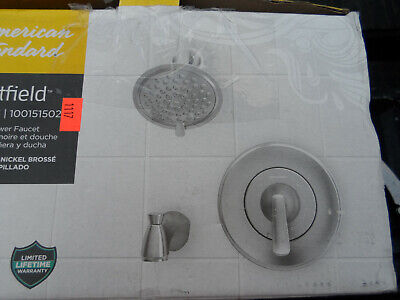 American Standard Spray Faucet - American Standard Chatfield 1-Handle 3-Spray Tub Shower Faucet 7413508.002 - Chr