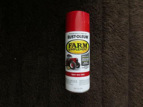 Troy Bilt Red Spray Paint #303473 12 oz. Farm & Implement, Mower & Tiller