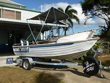 SAVAGE CENTRE CONSOLE, 30HP YAMAHA ELEC, NEW TRAILER River Heads Fraser Coast Preview