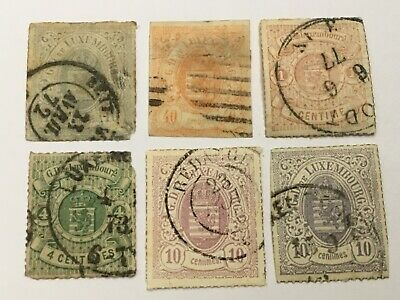 old stamps  LUXEMBOURG     x  6