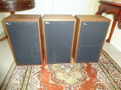 Ohm Acoustics C2 Speakers- Three Speakers