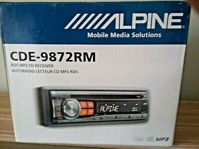 Autoradio lector cd mp3 Alpine CDE 9872 RM