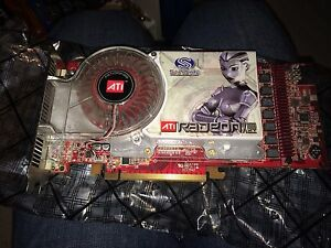 2 x bridgeable ATI Radeon X1900xt video card