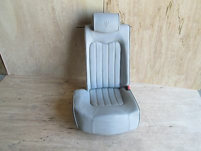 Maserati Quattroporte - RH / Rear Seat w/ Rails / Guides  - Power Grey