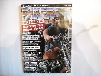 BIKERS NEWS Checkpoint der Rocker 36. Jahrgang Heft 397 Mai 5/2015