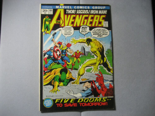 The Avengers #101 (1972, Marvel)