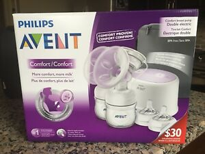 Phillips Avent - Comfort Double Electric Breast Pump