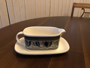 Mikasa Arabella Gravy Boat & Underplate New in Box