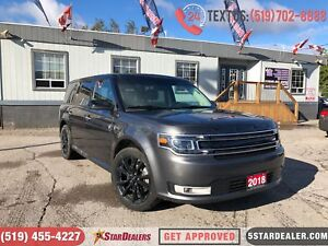 2018 Ford Flex Limited | LEATHER | NAV | CAM | PANO ROOF | 1OWNE